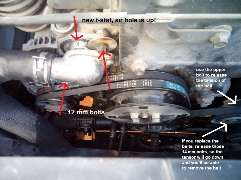 how to replace the thermostat of a pajero  montero diesel